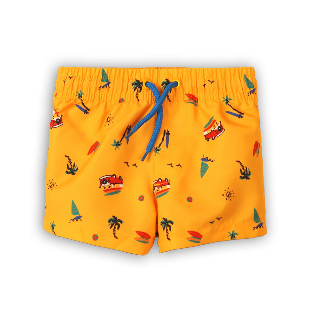 Camper Van Board Shorts For Toddler boys - (9m-8yrs)