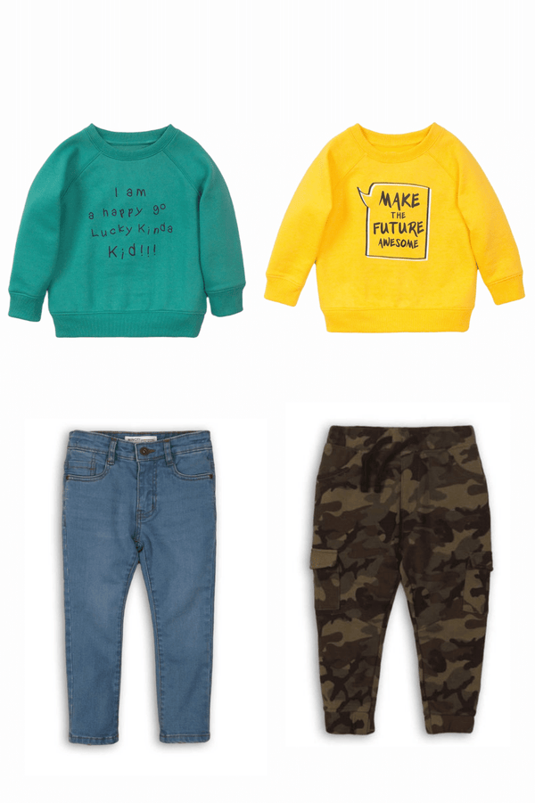infant and toddler fall and winter clothes