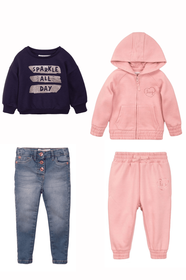 infant and toddler girl fall clothes