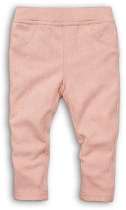 Toddler Blush Pink Jeggings - Cliqq Clothing