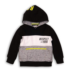 RESPECT CONTRAST PANEL HOODIE - LUCAS (3-8YEARS)