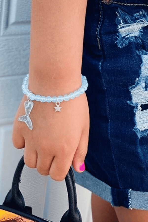 toddler girl mermaid charm braclets