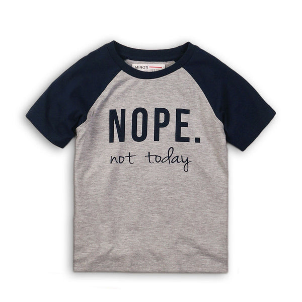 Boys Graphic Tee -Nope- Not-Today - Cliqq Clothing