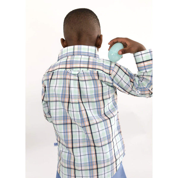 Prince Plaid Button-Up - Cliqq Clothing