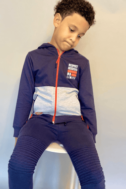 Buy Zayden Zip-Up for Boys Online in USA - Cliqqclothing.com