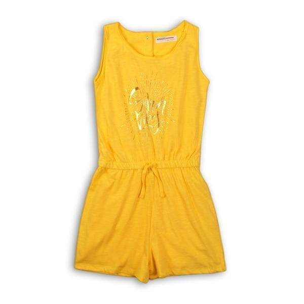 Yellow Playsuit - Zoe Summer Vibes - Cliqq Clothing