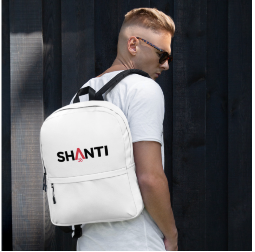Shanti (Peace) Backpack - Black