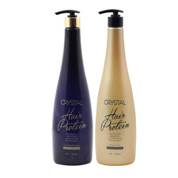 Crystal Hair Professional Protein Set STEP 1, 2
