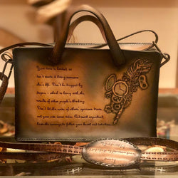 Customized Medium Handmade Leather Bag