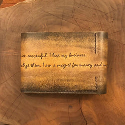 Handmade Leather Customized Wallet