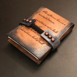 Handmade Customized Leather Small Card/Money Wallet