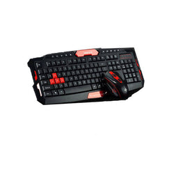 2.4G USB gaming wireless keyboard and mouse combo set For Desktop PC Laptop