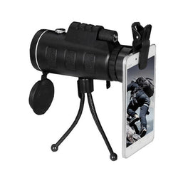 Single 40x60 High Power Low Light Night Vision Outdoor Mobile Phone Single Telescope