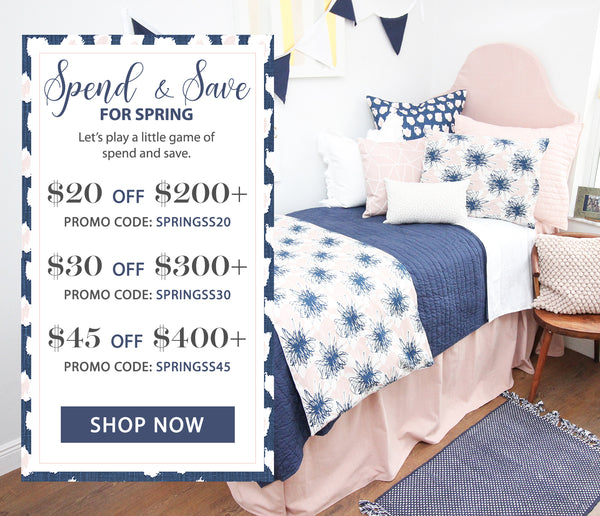 Spend & Save for Spring