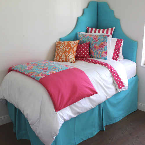 Pink & Teal Lilly Pulitzer Dorm Room