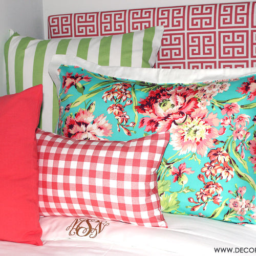 Floral Dorm Room Bedding and Decor