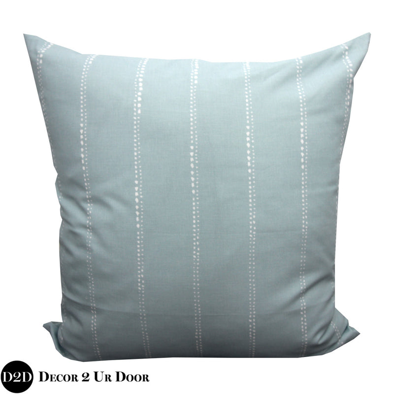Spa Blue Euro Pillow Cover