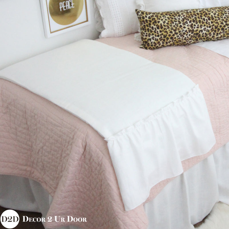 Blush & Cheetah Print Dorm Bedding Set