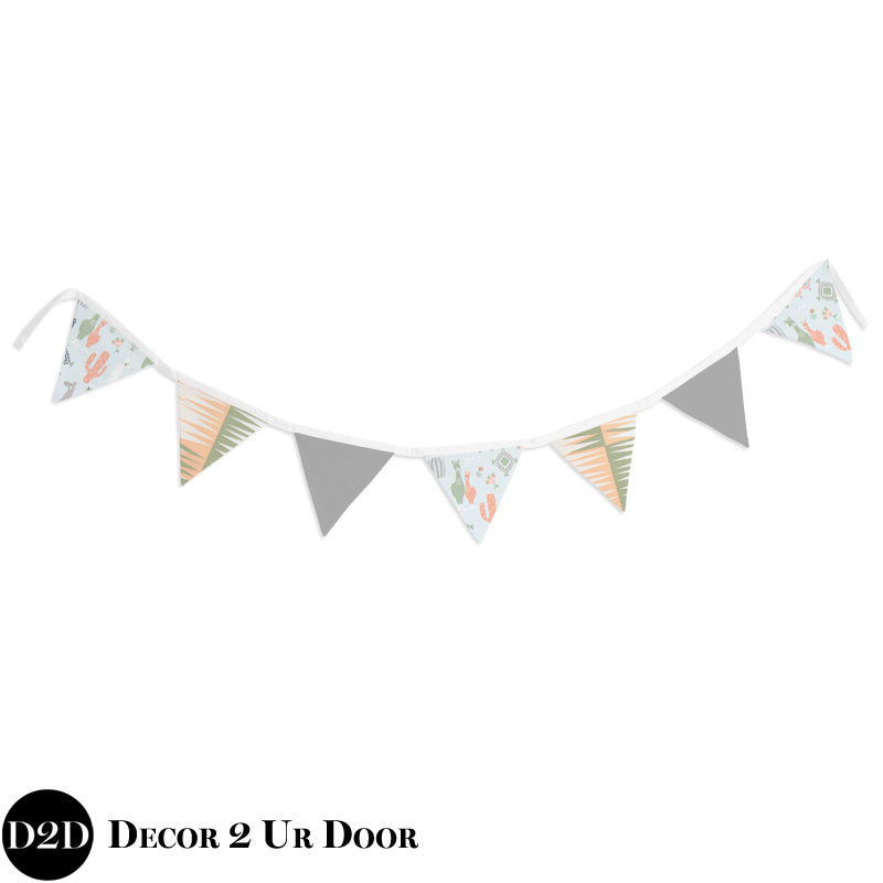 Little Llama Wall Fabric Pennant Banner