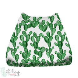 Watercolor Cactus Baby Changing Pad Cover
