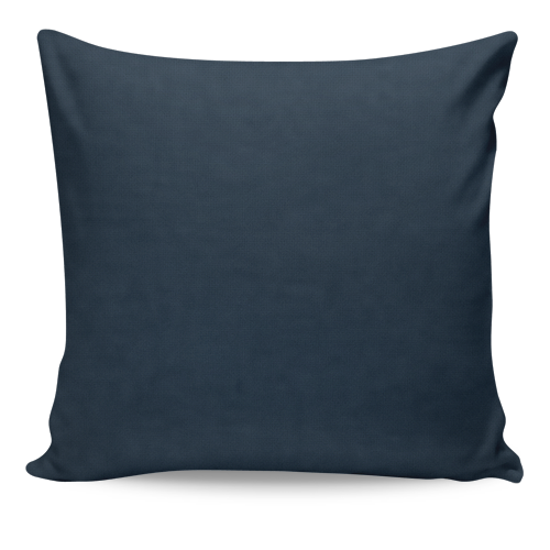 Solid Navy Square Decorative Throw Pillow Cover
