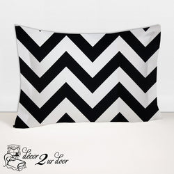 Black & White 2-Sided Designer Sham