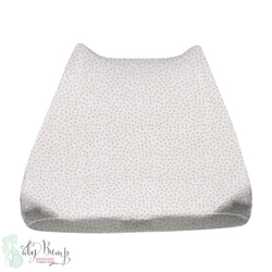 Blush Pink Dot Baby Changing Pad Cover