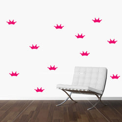 Crowns Vinyl Wall Decals