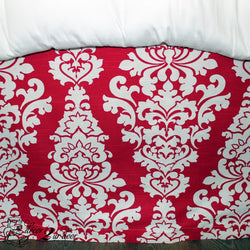 Deep Pink Berlin Designer Dorm Bed Skirt