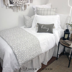 Farmhouse Cotton Print Dorm Bedding Set