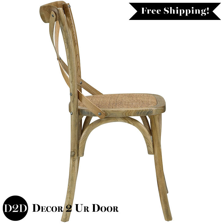 Farmhouse Wooden Side Chair