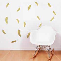 Feathers Vinyl Wall Decals