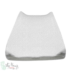 Grey Dot Baby Changing Pad Cover