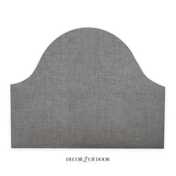 Storm Grey Jackson Padded Fabric Headboard