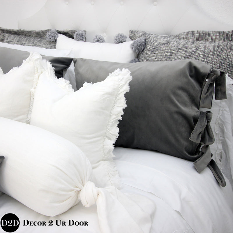 Grey & White Neutral Designer Bedding Collection
