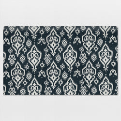 Navy Blue Raji Standard Twin Fabric Padded Headboard