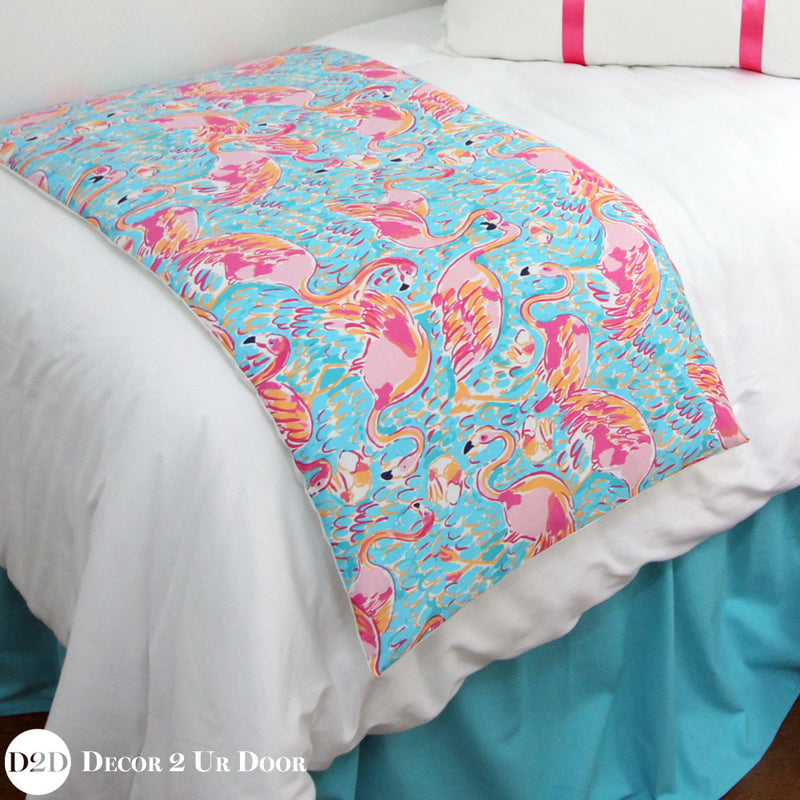 Lilly Flamingo Bed Scarf