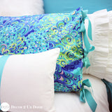 Lilly Peacock Print Dorm Bedding Set