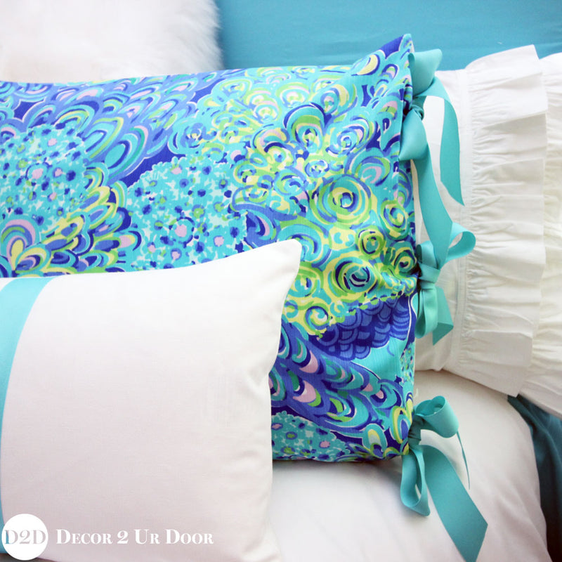 Lilly Peacock Print Designer Bedding Collection