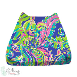 Lilly Multicolor Toucan Baby Changing Pad Cover