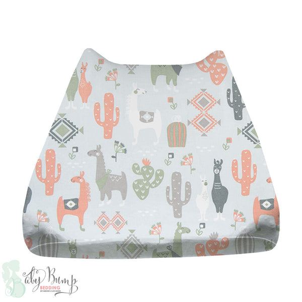 Little Llama Baby Changing Pad Cover