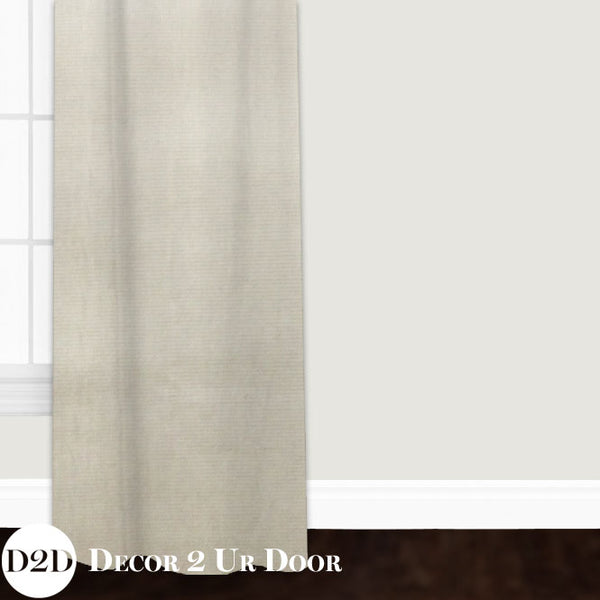 Metallic Gold Speck Closet + Window Curtain