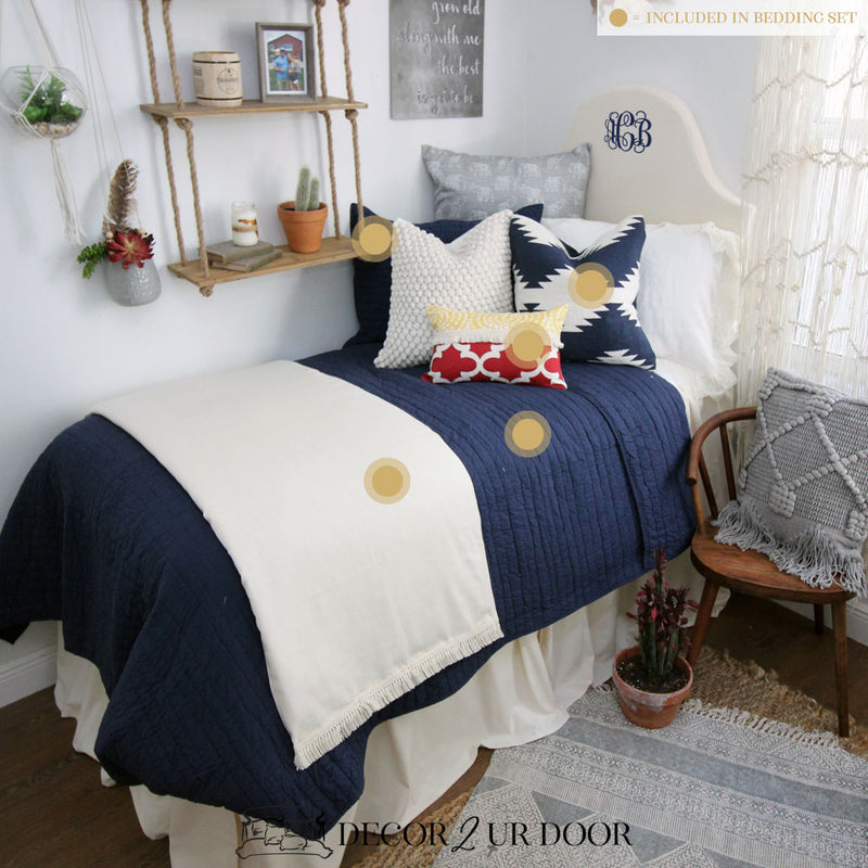 Moroccan Bohemian Dorm Bedding Set