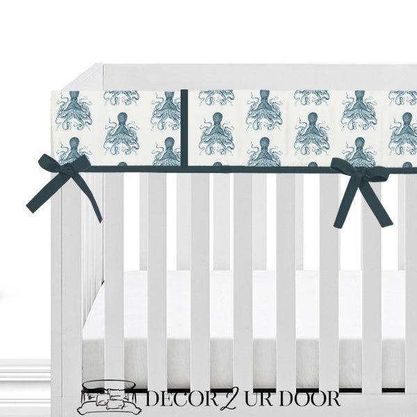 Octopus 2-in-1 Crib Bumper/Rail Cover