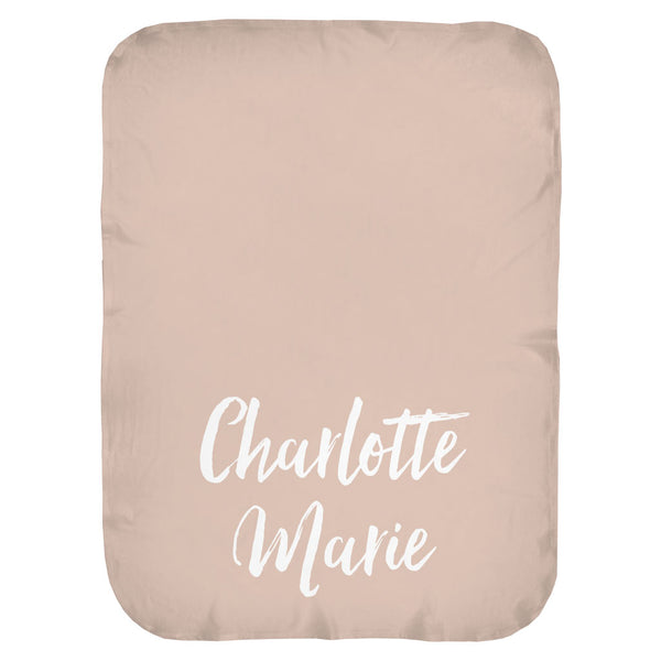 Marker Name Personalized Swaddle Blanket