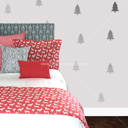 Pine Trees Vinyl Wall Decals
