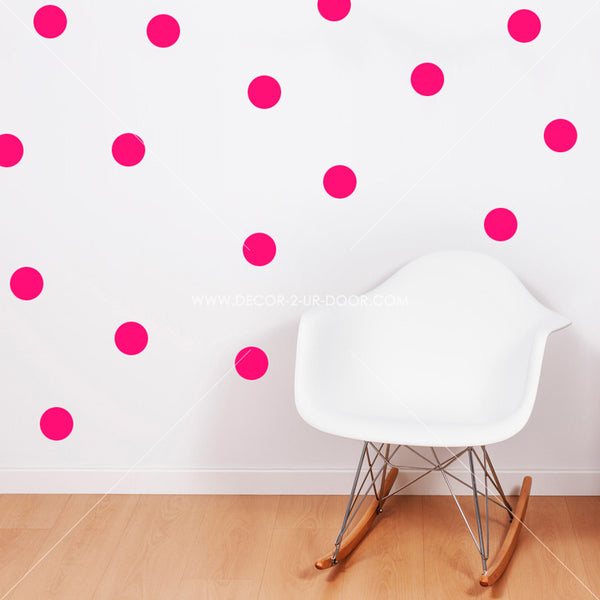 Polka Dots Vinyl Wall Decals