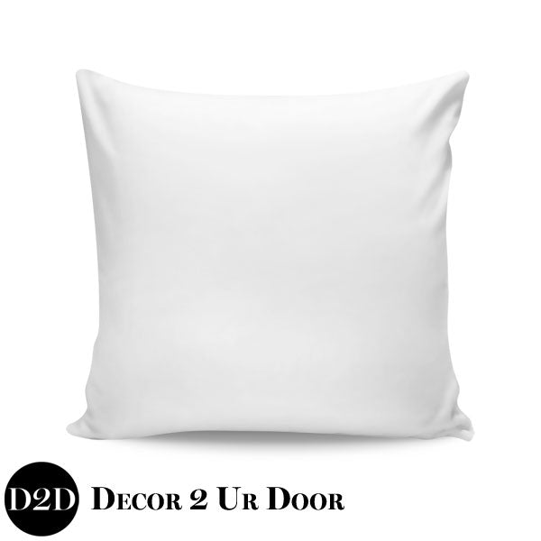 Solid White Euro Pillow Cover