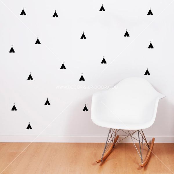 Teepees Vinyl Wall Decals