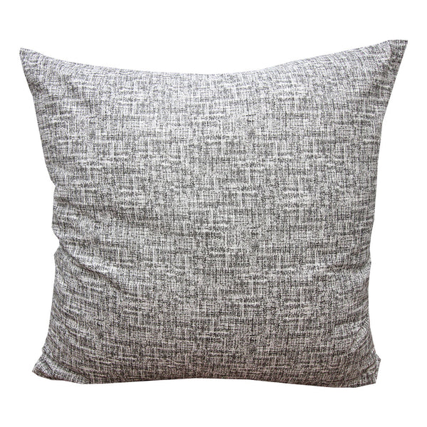 Black Twead Euro Pillow Cover